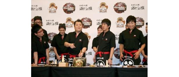 小杉竜一はデコのみ焼を「笑」と漢字1文字で表現