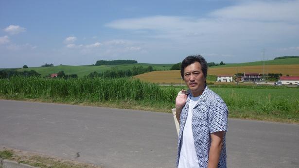 """大鶴義丹が""""北海道・美瑛""""で初の田舎暮らしに挑戦!!"""