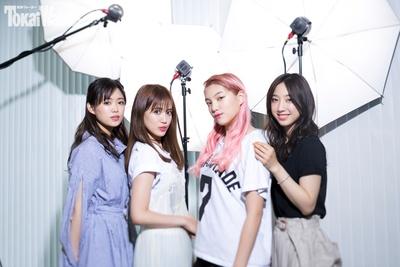 新生E-girlsから、4人のメンバーが遊びに来てくれた!