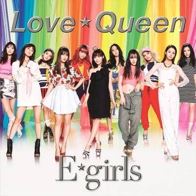 New Single「Love ☆ Queen」、CD+DVD盤(1800円・税抜)ジャケット