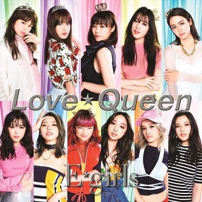 New Single「Love ☆ Queen」、CD盤(1200円・税抜)ジャケット