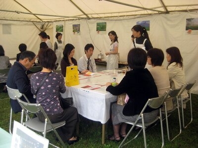 紅茶の入れ方教室も開催