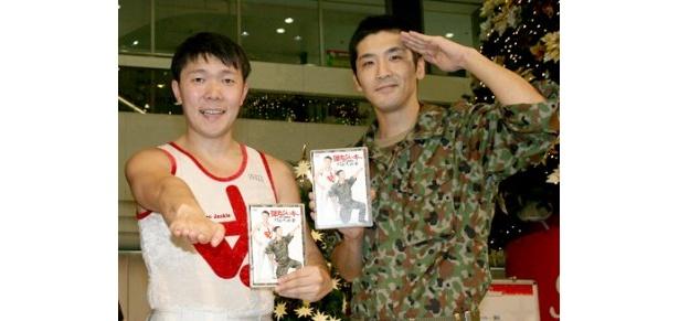 DVD「月面大戦争」の発売記念イベントを行った弾丸ジャッキー