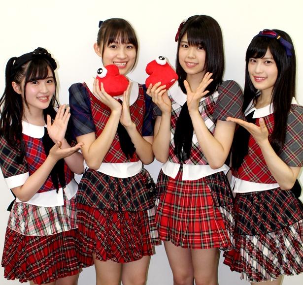 【写真を見る】イベントに出演したAKB48の佐藤妃星、下口ひなな、吉川七瀬、田北香世子