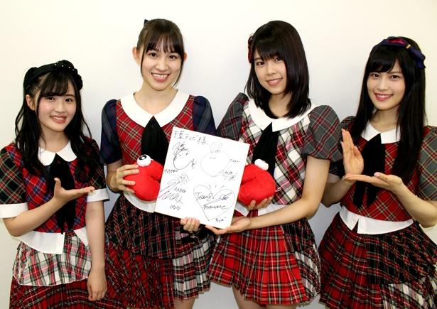 4人は「また千葉県のメンバーでイベントをやりたい」と希望した