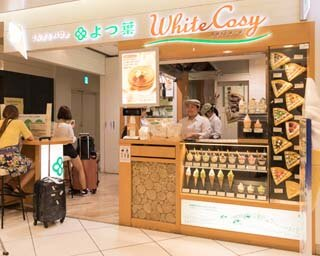 北海道各地の有名スイーツショップが並ぶ「スイーツアベニュー」に位置