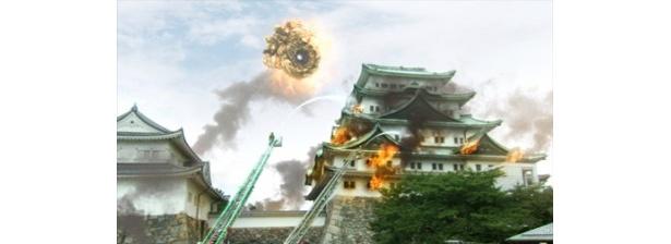 名古屋城が炎上! 千村利光監督は「皆さんのおかげで名古屋城を燃やすことができました」と振り返った