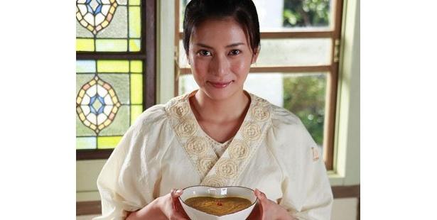 料理を通して、成長していく女性の姿を描く『食堂かたつむり』