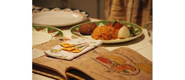 倫子のお手製料理レシピ。ここから幸せを呼び込む料理が誕生