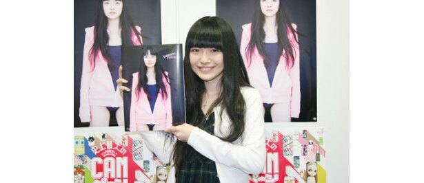 1st写真集「fuwa fuwa」を発売した小島藤子