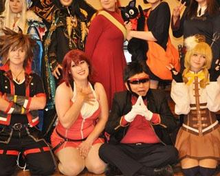 世界コスプレサミットの名古屋市表敬訪問が行われた