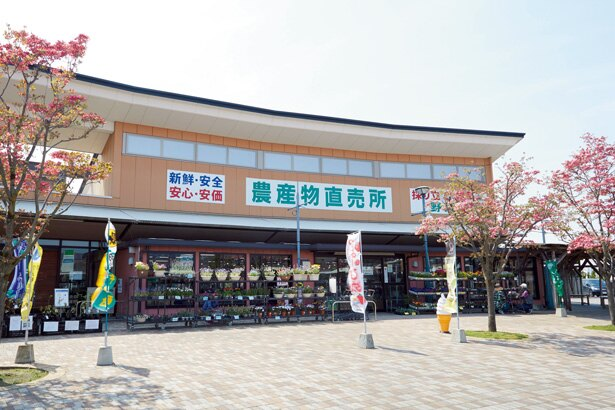 藤岡市の新鮮な野菜を販売する農産物直売所