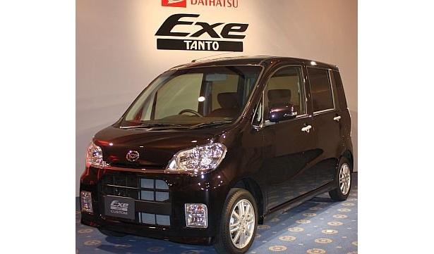 スマップの香取慎吾さんがCMキャラクターを務める、ダイハツの新型車「TANTO Exe」は、12月24日から発売
