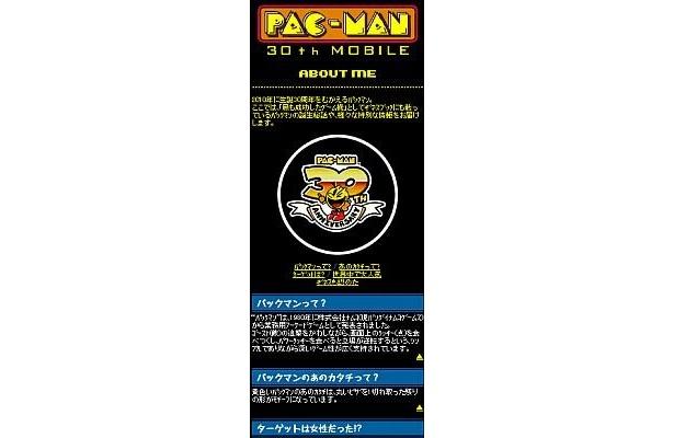 パックマンの誕生秘話など面白い情報が満載!
