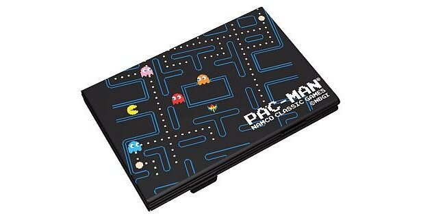 「ナムコクラシックゲームス パックマン名刺ケース ゲームタイプ」(1029円)