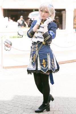 「アイドルマスター シンデレラガールズ!」のアナスタシアに扮した志麻遊さん