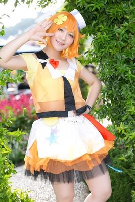 「ツキウタ。」の兎川千桜に扮したのむる。さん