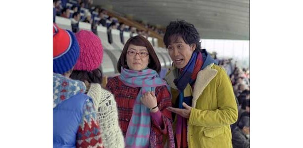 JRAのCM「CLUB KEIBA」シリーズの「CLUB KEIBA/経理の光浦さん」篇にタレントの光浦靖子さんが初登場! CMは12/27(日)からオンエアだ