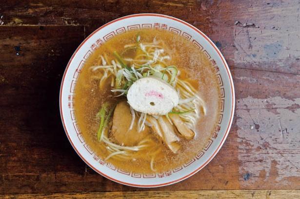 餃子と麺 いせのじょう/「しょうゆ味ラーメン」500円