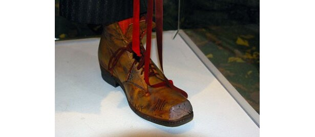 靴にも味が染み込んでいます