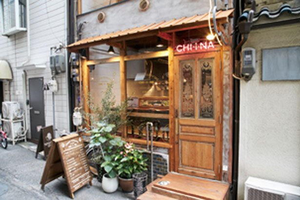 古民家を改装。2階席もあり/CHI・i・NA 福島店