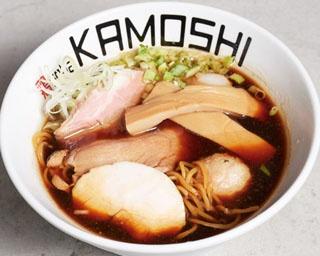 鶏soba KAMOSHI/看板メニューの「鶏soba醤」750円