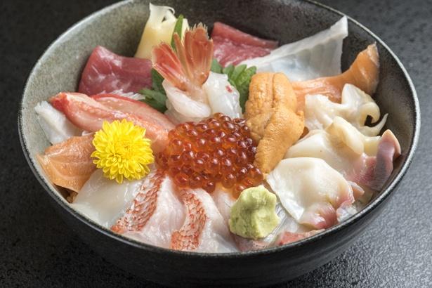 「知床海鮮丼」3100円