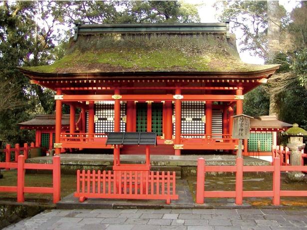 除災難・厄難の神様として有名な応神天皇の皇子・仁徳天皇たちが祀られている若宮神社も「宇佐神宮」内にある