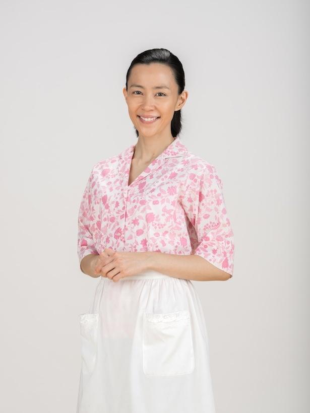 「ひよっこ」でみね子(有村架純)の母・美代子を演じる木村佳乃