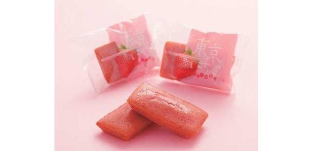 銘品館内の「モロゾフTOKYO:03」で買えるのは、「東京イチゴフィナンシェ」(600円・10個)。2010年2月中旬までの期間限定