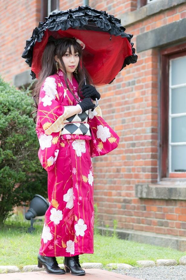 「Fate/Grand Order」のイシュタルに扮した曲崎マチコさん