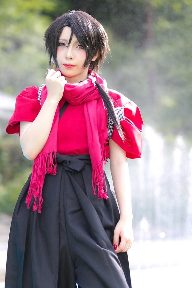 「刀剣乱舞」の加州清光に扮した花丸満天さん