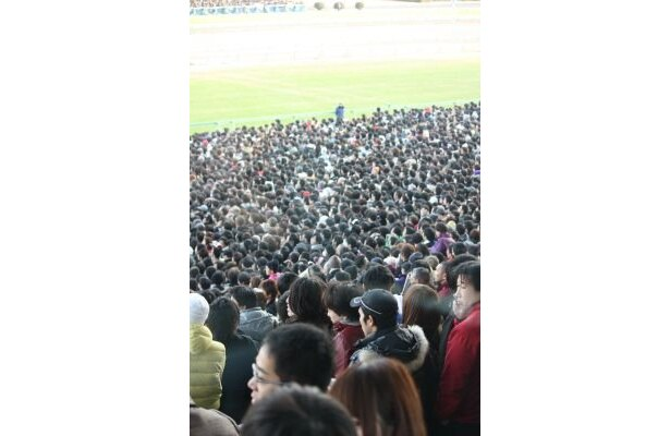 来場者11万5327人!大盛り上がりの有馬記念
