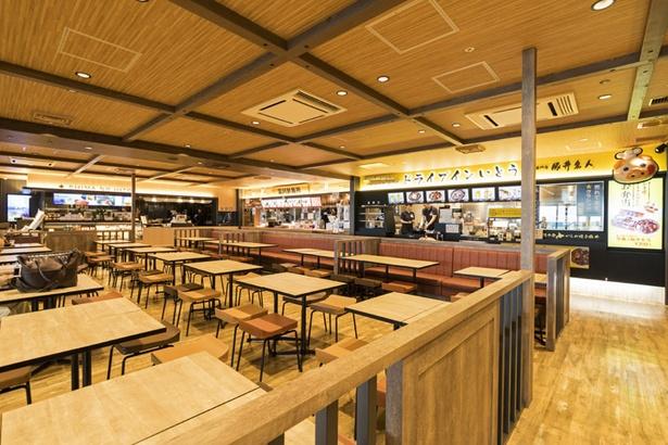 新千歳空港から出発する搭乗客しか利用できない「北海道食堂」
