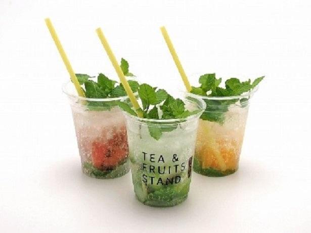 美と健康を意識したカフェ「TEA & FRUITS STAND」も期間限定でオープン