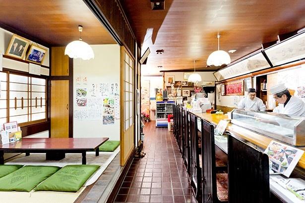 1954年創業の老舗寿司店