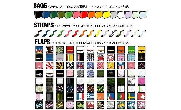 各パーツを組み合わせて自分だけのバッグを作ろう!