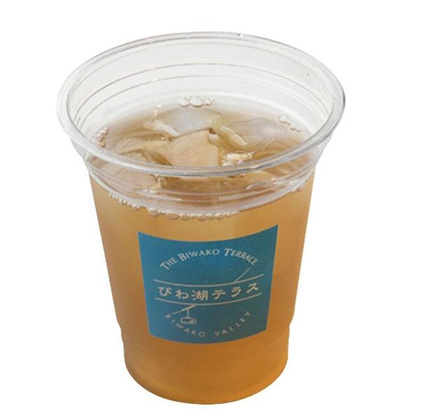 近江茶の老舗「前野園茶舗」の「近江ほうじ茶」(500円)/びわ湖テラス