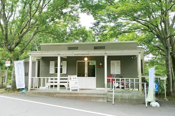 湯布院塚原高原観光協会内にある「te〜 テカラ」