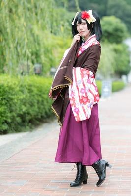 「ラブライブ!大正ロマン編」の矢澤にこに扮したちゅんたさん