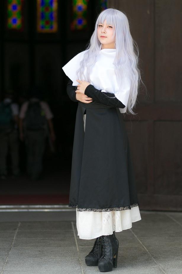 「Fate/hollow ataraxia」のカレン・オルテンシアに扮したルイ・やまだ7世さん