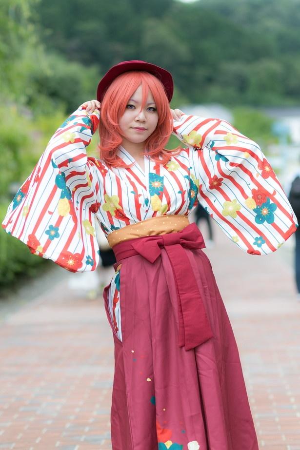 「ラブライブ!スクールアイドルフェスティバル」の西木野真姫(大正ロマンVer.)に扮した柚姫さん