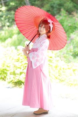 「Fate/Grand Order」の藤丸立香に扮した彩凪さん