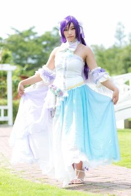 「ラブライブ!」の東條希に扮した桜夏さん
