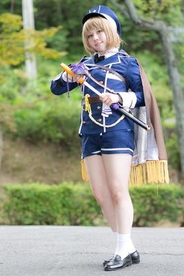 「刀剣乱舞」の前田藤四郎に扮した堀さん