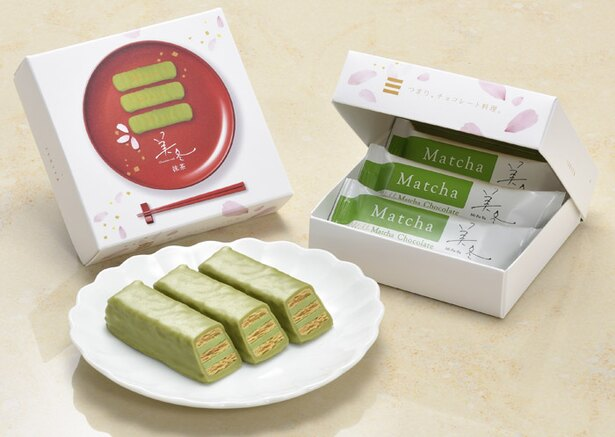 美冬抹茶3個入390円