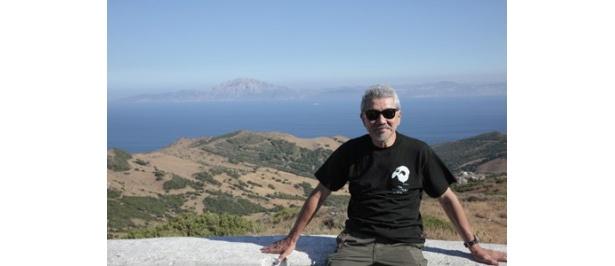 ジブラルタル海峡を背に、しばしの休息。