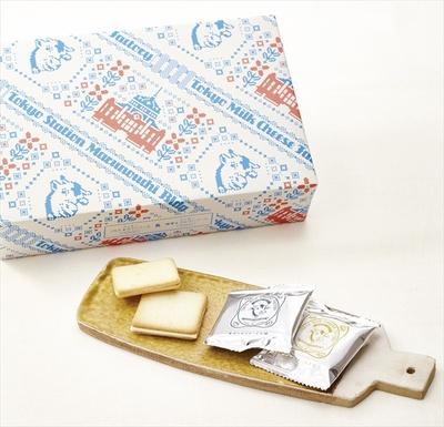 7位「東京駅丸の内駅舎パッケージクッキー詰合せ」(20枚入り/1857円)。人気のソルト&カマンベールクッキーと蜂蜜&ゴルゴンゾーラクッキーの各10枚入りセット。