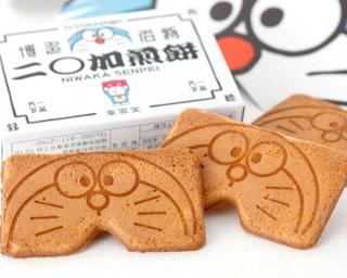 「I'm Doraemon 二○加煎餅」3枚入×4箱(648円)。夢の競演!