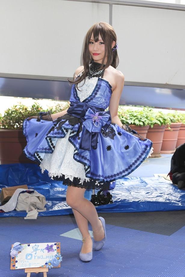 「アイドルマスター シンデレラガールズ」の渋谷凛に扮した寧々さん